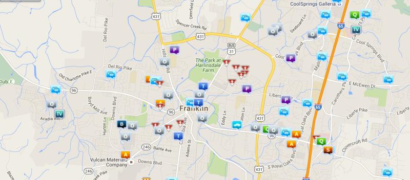 Credit fraud, prostitution headline last week of Franklin crime