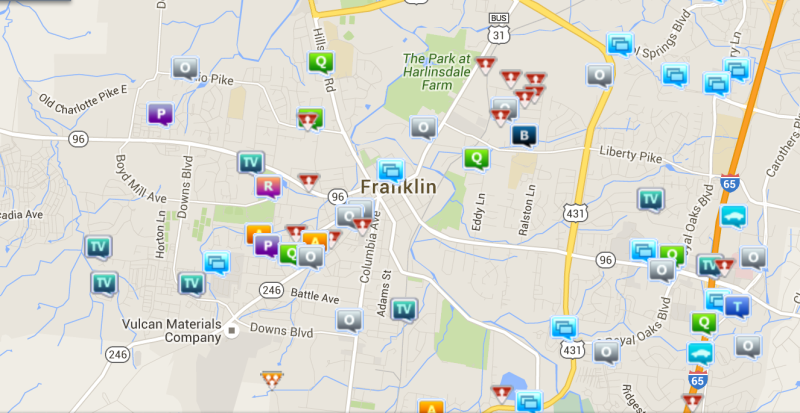 Thefts from cars, impersonation incidents happened in Franklin crime last week
