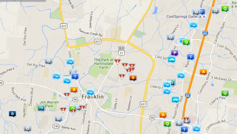 Sexual offenses, theft ranked top in Franklin crime last week