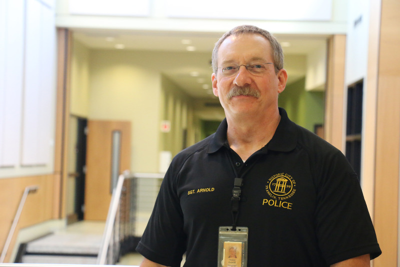 Behind the barrel: The man that keeps FPD armed