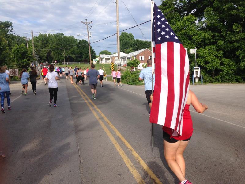 Volunteers, runners, veterans make Snowball Express a hit