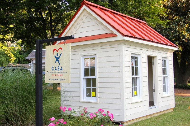 Playhouse raffle will fund CASA's mission for children in court
