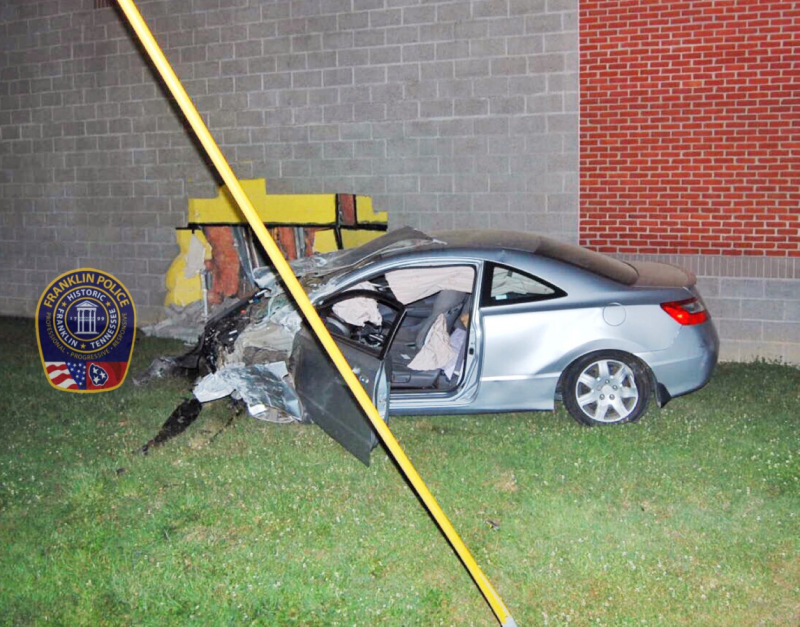 Alcohol could have led to weekend crash into Williamson County Health Department