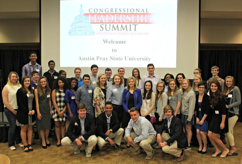 Williamson students represent county at Blackburn's Congressional Leadership Summit