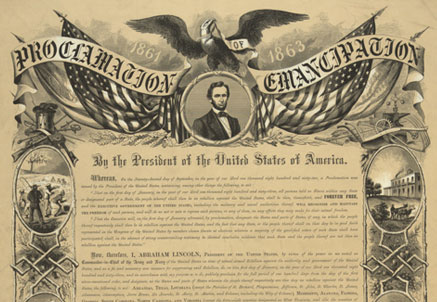 Better known Emancipation Proclamation didn't free all slaves like 13th Amendment did