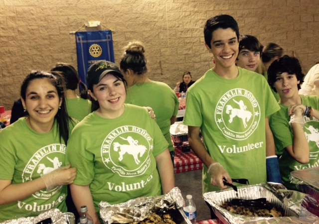Franklin Rodeo provides 'real life' food experience for culinary students
