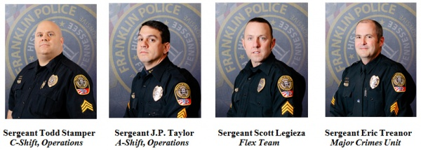 Franklin Police sergeants graduate from police management ...