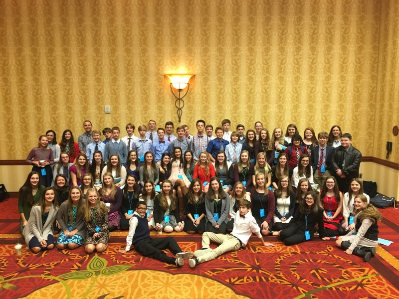 Hillsboro Middle students gain more than half the seats in Model UN General Assembly