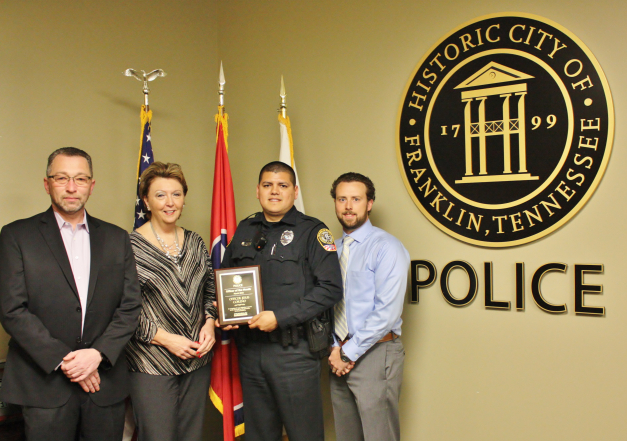 FPD names Jesus Coreno Officer of the Month