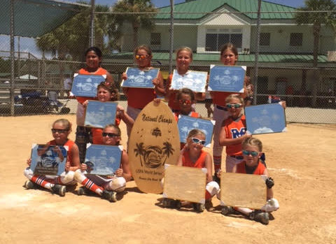 Eight and under team wins World Series